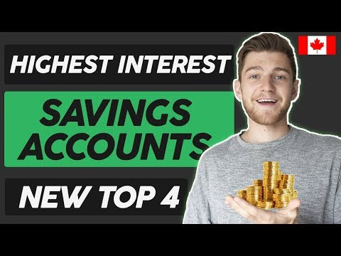NEW Highest Paying Savings Accounts In Canada 2019-2020 ( 4 Banks )