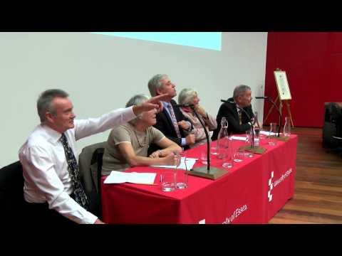 University of Essex Regius Professorship Lecture 2014 - Part 2: Panel Discussion and Audience Q&A