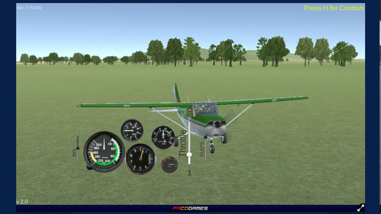 Real Flight Simulator 2 Gameplay - Part 1