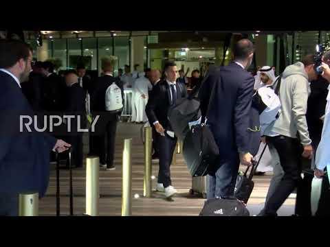 UAE: Real Madrid arrive in Abu Dhabi for FIFA Club World Cup