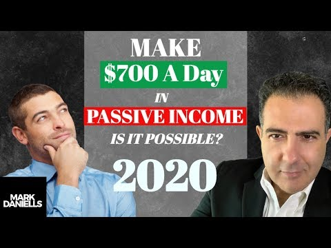 Make 700 Dollars A Day In Passive Income | Is it Possible To Make Passive Income?