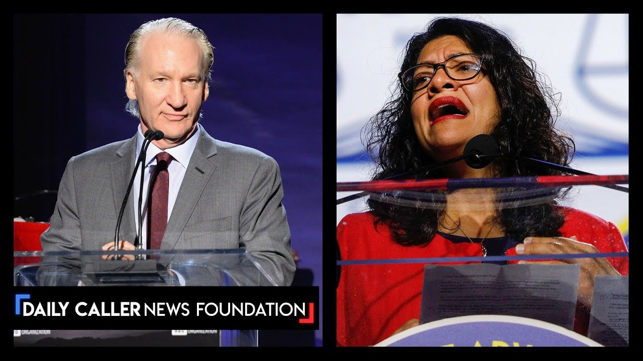 DC Shorts Bill Maher: 'BDS Is A Bulls**t Purity Test', Tlaib Lashes Out