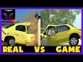 BeamNG drive vs Real Life #4 ► Crash Physics Comparison [2017 Remake]