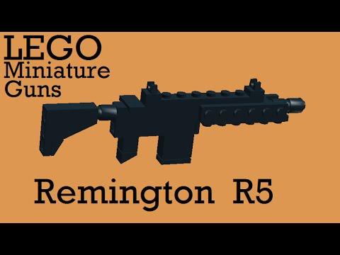 LEGO Miniature Guns: Remington R5 Assault Rifle - YouTube  LEGO Miniature ...