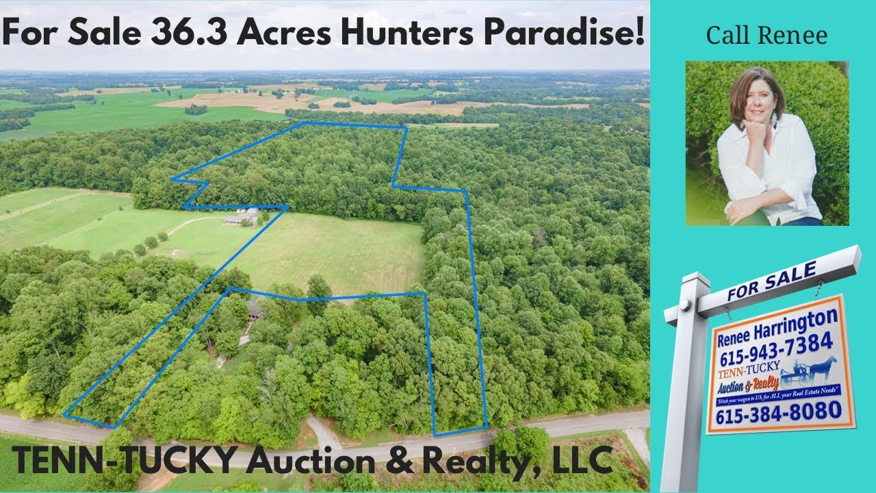 Tennessee robertson county springfield - For Sale 36 Acres Dot Road Springfield Tn Robertson County