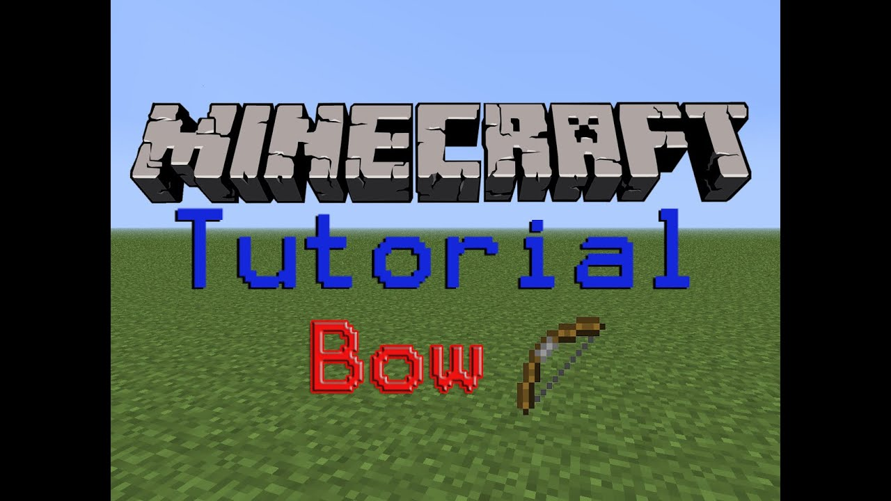minecraft how to build a bow