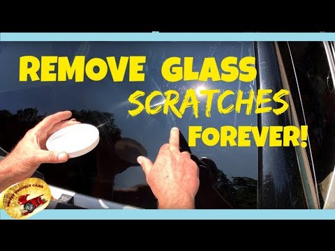 REMOVE BAD SCRATCHES IN GLASS...FOREVER!!!