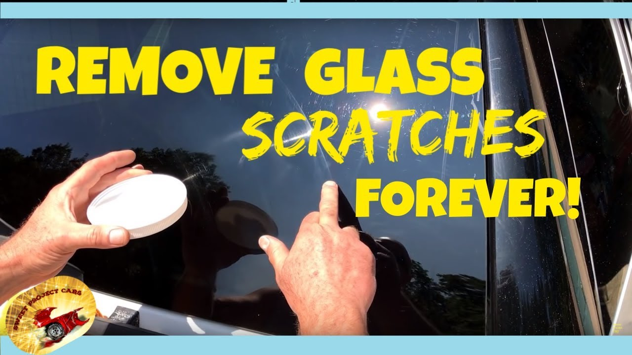 Remove Bad Scratches In Glass Permanently