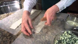 Spanakopita (greek Spinach Appetizer).mpg
