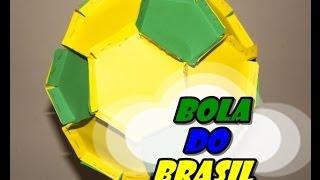 DIY.: Bola decorativa + Brasil