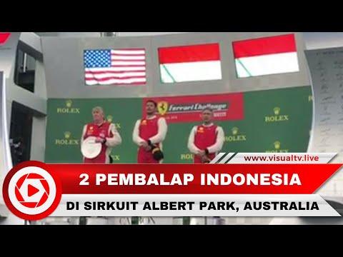 2 Pembalap Indonesia Kibarkan Merah Putih di Sirkuit F1