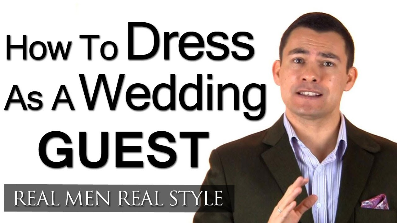 How A Male Guest Should Dress For A Wedding Engagement Party - Men\'s ...