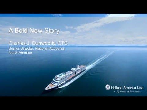 What's Nieuw at Holland America Line, defining premium cruising in 2016 & 2017