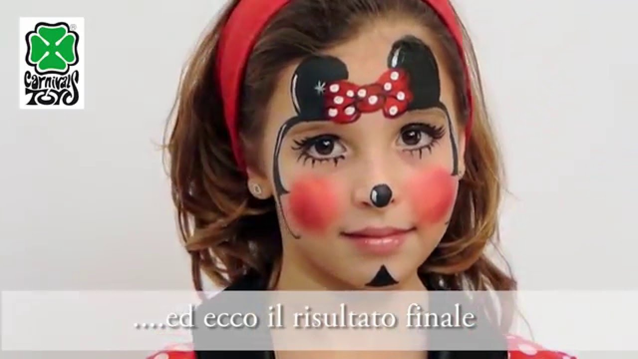 Tutorial Trucco Ad Acqua Topolina Art 7387 Youtube