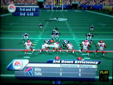Madden 2002: Buffalo Bills vs. Indianapolis Colts (2 player)