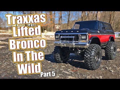 Ready To Crush Some Terrain! - Project Traxxas TRX- Lifted Ford Bronco - Series Pt    RC Driver
