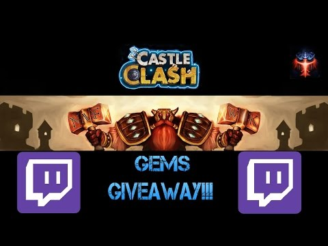 Castle Clash: Free Gems! Guild Wars Scouting 5/1/16 CODES GIVEAWAY!!!
