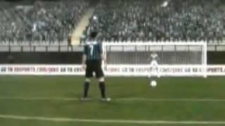 Fifa 12 Pazzini sbaglia rigore contro l