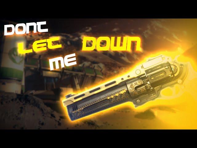 Dont Let Me Down - A Destiny Montage