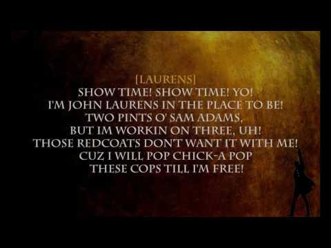 (Hamilton) Aaron Burr, Sir - Lyrics