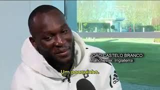 Romelu lukaku falando Português!!!