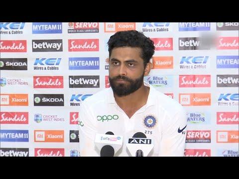 India vs West Indies | Always want to give my best: Ravindra Jadeja