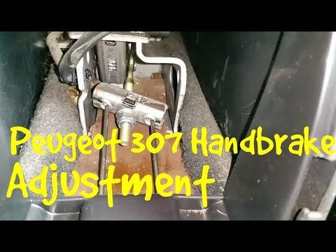 Peugeot 307 Handbrake Adjustment (Easy Fix)