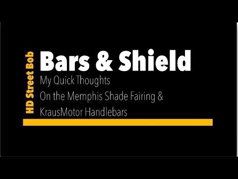 Bars and Shield - Handlebars and Fairing review