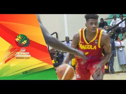 Rwanda v Angola - Full Game - FIBA U18 African Championship 2018