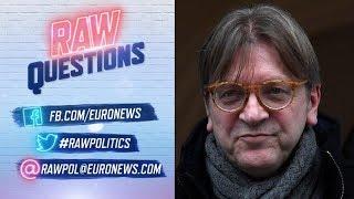 European Elections 2019: Live interview with Guy Verhofstadt Video