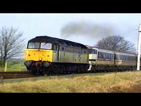 ECML Diversions via the GN/GE Joint Line - February 1991