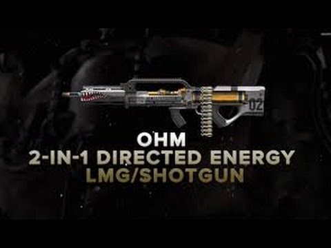 Ohm Directed Energy LMG & Shotgun First Impressions | New Light Machine Gun and Shotgun in DLC2