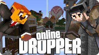 ¡PIRATAS EN EL AIRE! DROPPER Online 3 |  Minecraft Con Exo