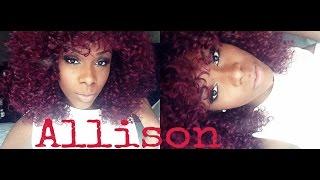 It's a wig Allison *divatress*