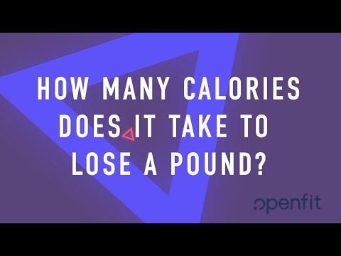 How Many Calories Does It Take to Lose a Pound