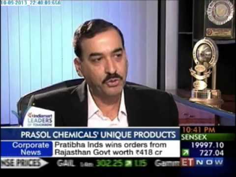 Prasol Chemicals on IndiaMART Leaders of Tomorrow 2013