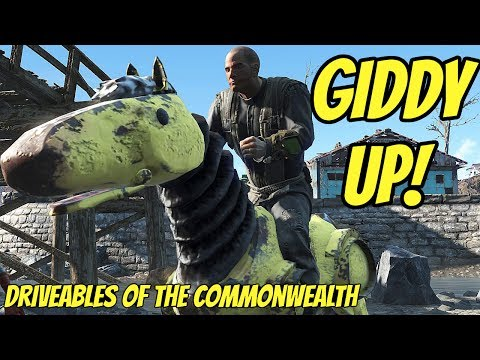Giddy Up! Driveables of the Commonwealth | A Fallout 4 Mod |