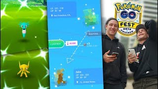 GIVING AWAY MY SHINY POKÉMON… (Pokémon GO Fest)
