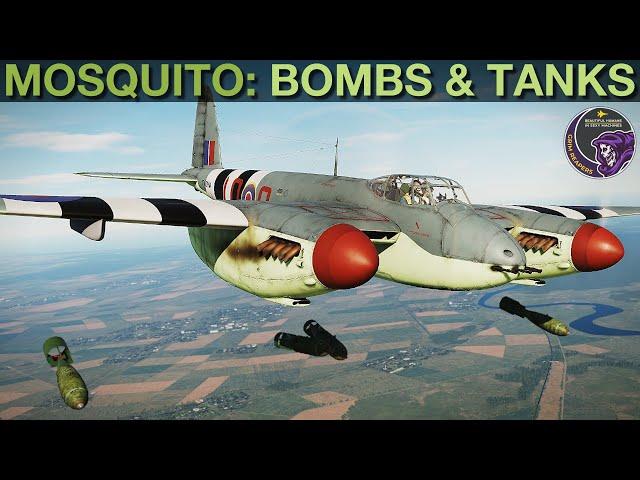 Mosquito FB MkVI: Bombing, Fuel Tanks & Jettison Tutorial   DCS WORLD