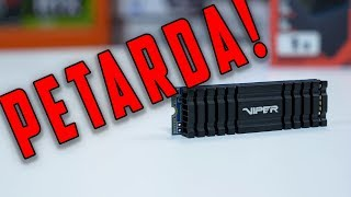 Patriot Viper VPN100 1TB - idealny dysk ssd NVMe ? TEST - VBT