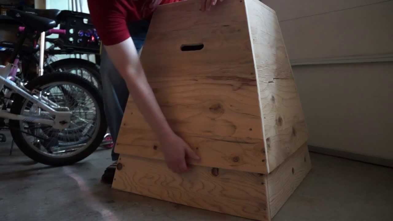 How To Build A Dual Height Crossfit Plyo Jump Box Youtube