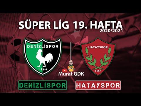 DENİZLİSPOR - HATAYSPOR / Süper Lig 19. Hafta Maçı / FIFA 21- PES 2021