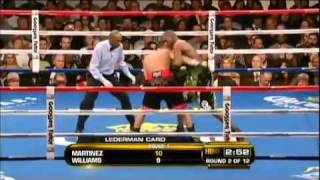 Sergio Martinez vs Paul Williams II