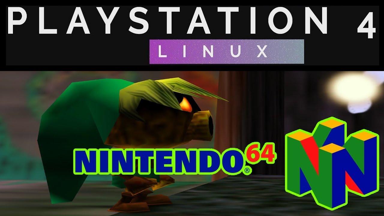 mupen64plus (N64) on PS4 PRO 5 05 | Psxitarch Linux v2 | live