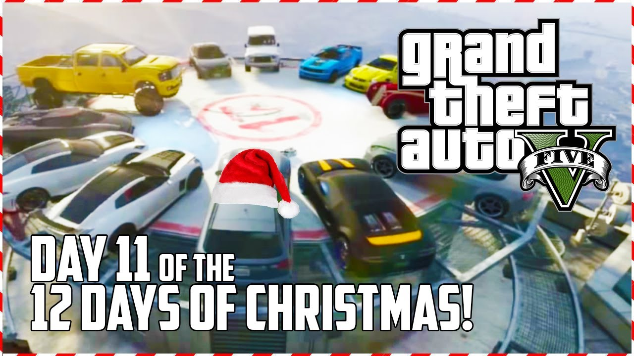 GTA 5 Online - Santa's Demolition Derby! (Day 11 of 12) (GTA V)