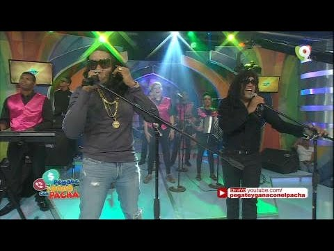 Presentación de Los Reyes del Humor Raymond Pozo y Miguel Céspedes en Pégate y Gana con El Pachá