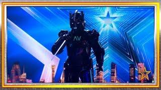 Tierra llamando a Marte. ¡'Take On Me' cantada por un robot! | Audiciones 3 | Got Talent España 2019