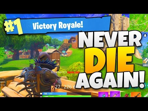 How To NEVER DIE AGAIN in Fortnite - Tips and Tricks - [Fortnite: Battle Royale] Gameplay