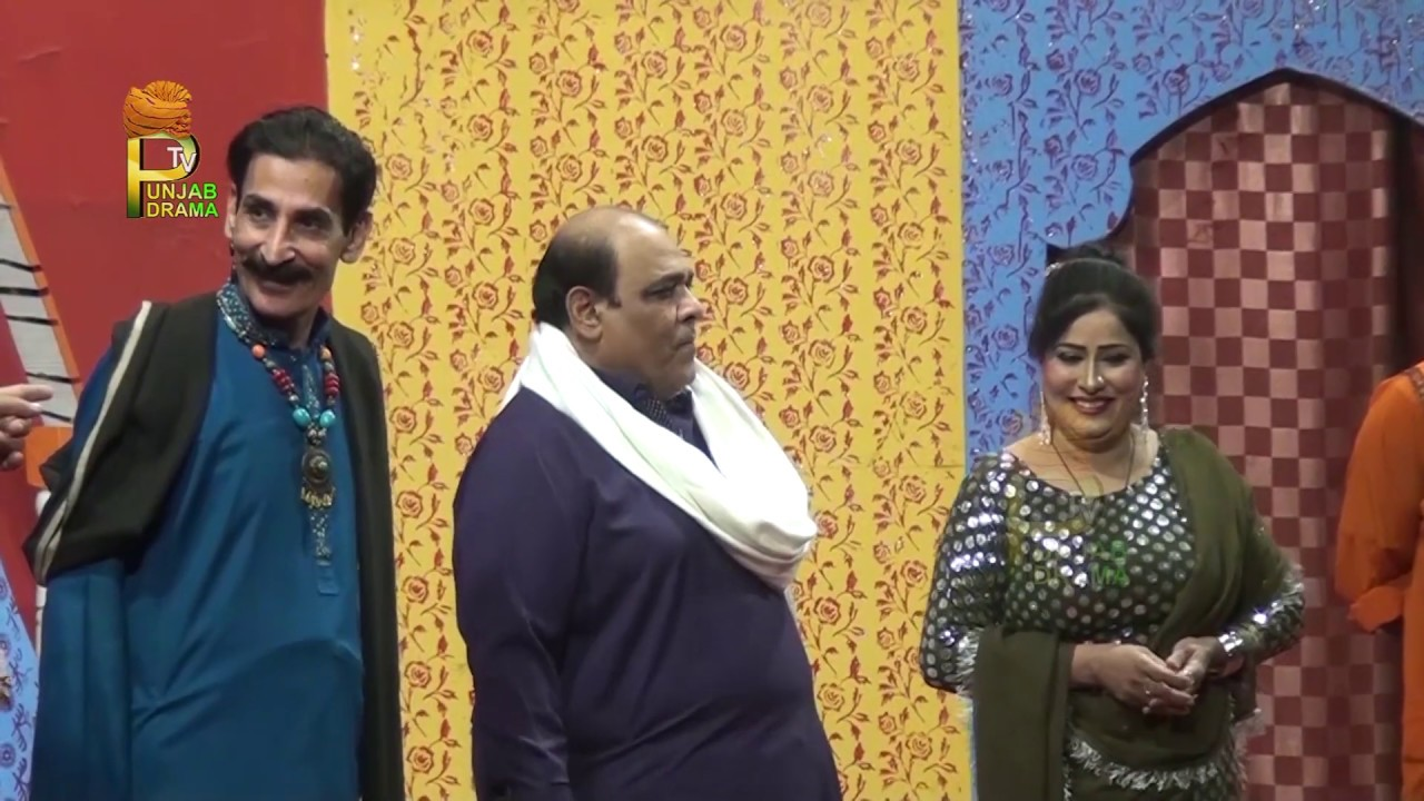 Iftikhar Thakur and Agha Majid Saraiki Stage Drama Full Comedy Clip 2019