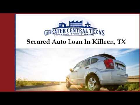 Secured Auto Loan In Killeen, TX